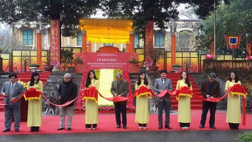 2016丙申年春节文化展在升龙皇城举行 hinh anh 1