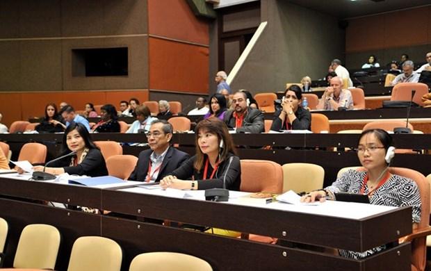 越南参加有关古巴民族英雄何塞-马蒂的国际研讨会 hinh anh 1