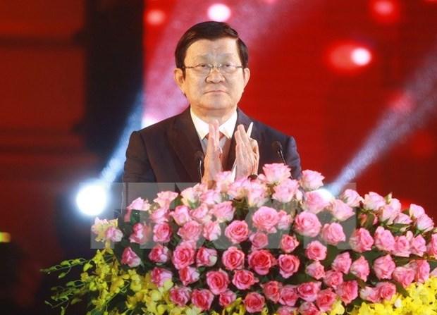 """张晋创主席出席2016年""""家乡之春""""活动 hinh anh 1"""