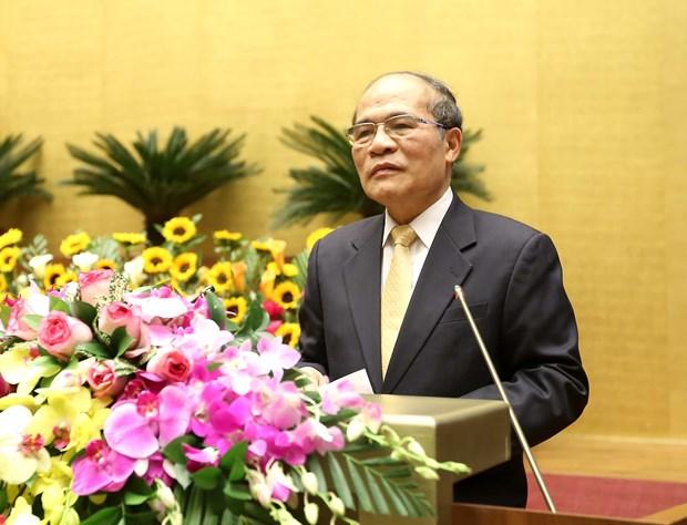 国会主席阮生雄:各级人民议会继续革新提高解决当地重要问题的效率 hinh anh 2