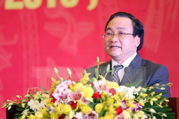 黄忠海同志担任河内市市委书记 hinh anh 1