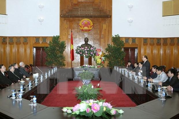 越南各宗教协会向政府领导拜年 hinh anh 1