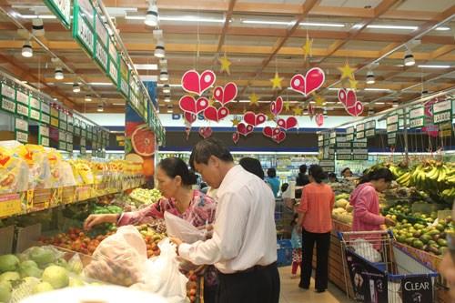 越南国内零售商面临外国零售商的激烈竞争 hinh anh 1