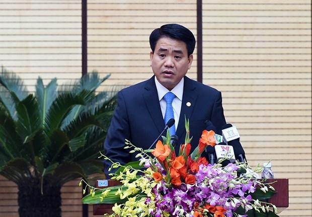 2015年河内市国家预算收入达155万亿越盾 hinh anh 2