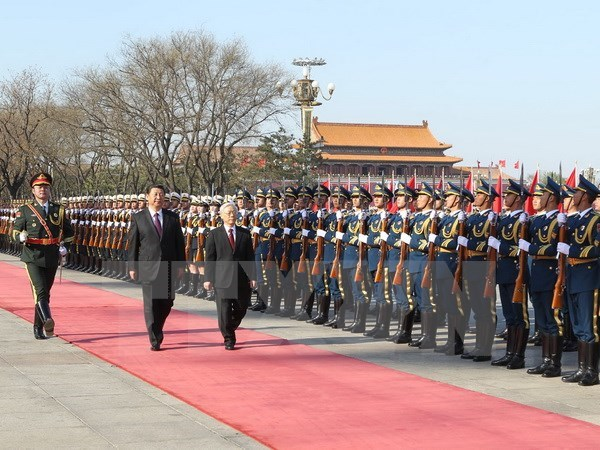 2015年越南党和国家领导人十大出访之旅 hinh anh 1