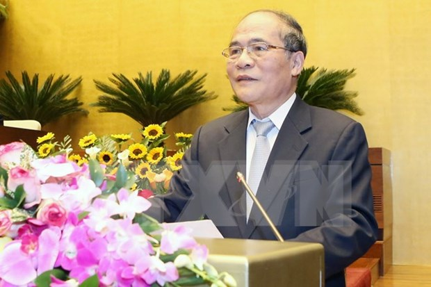 国会主席阮生雄:第十三届国会团结、智慧和真正革新 hinh anh 1