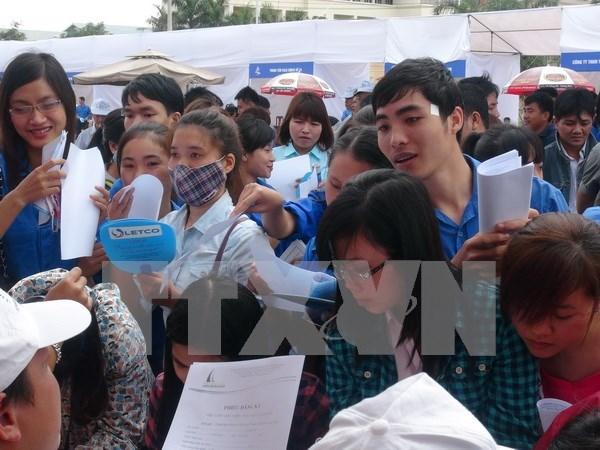 2015年胡志明市解决近29.5万人就业 hinh anh 1