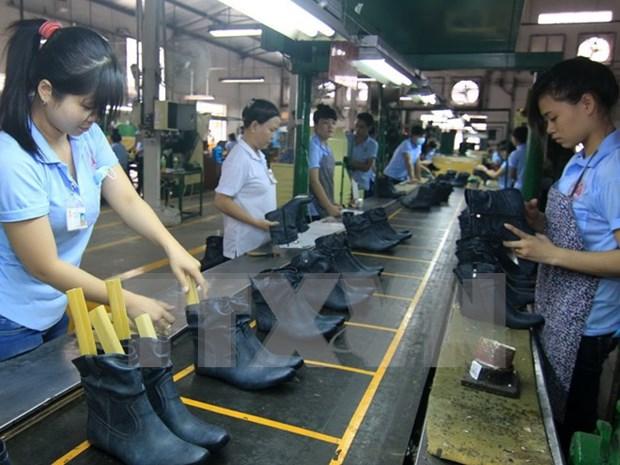 越南皮鞋产业做好原辅料准备以争取各项贸易协定带来的机会 hinh anh 1