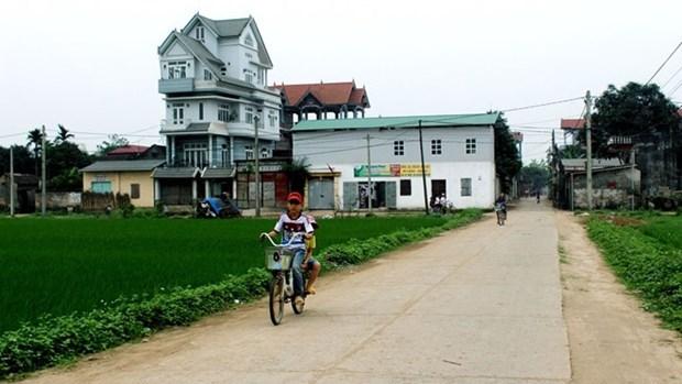 越南永福省安乐县的新面貌 hinh anh 1