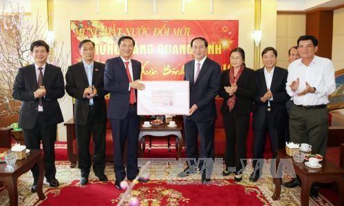 公安部长陈大光:广宁省需集中把促进旅游和经济发展与维护海上主权相结合 hinh anh 1