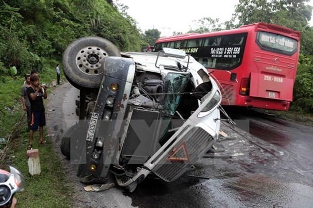 春节假期8天内越南全国因交通死亡人数210人 hinh anh 1