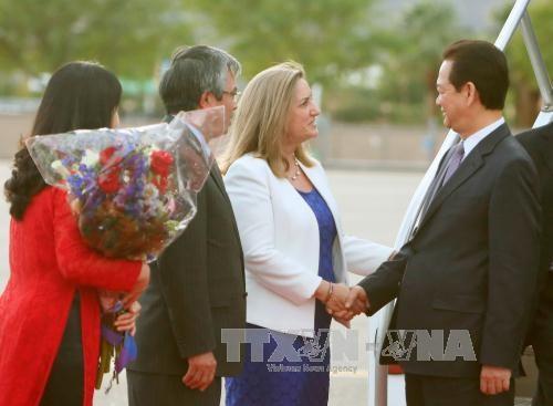 阮晋勇总理抵达美国出席东盟—美国领导人特别峰会 hinh anh 1