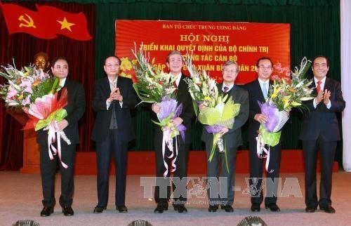 越共中央政治局委员范明正担任中央组织部部长职务 hinh anh 2