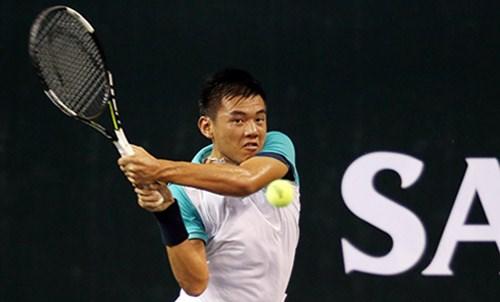 中国网球F1未来赛:李黄南进入正赛 hinh anh 1