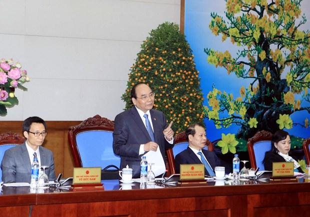 阮春福副总理要求各机关干部和公务员春节后抓紧时间完成任务 hinh anh 1