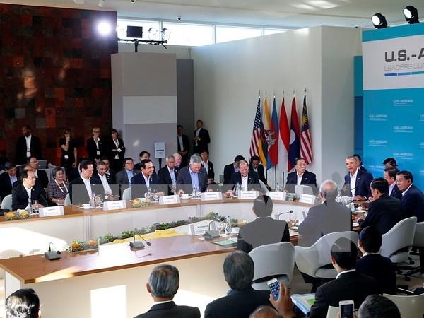 东盟美国领导人特别峰会:阮晋勇总理强调双边关系重要战略意义 hinh anh 1