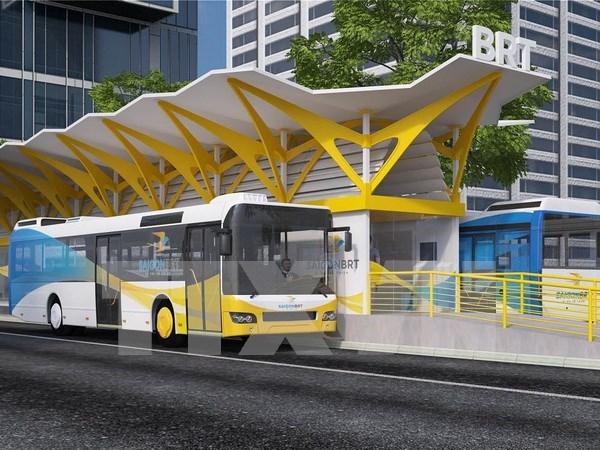 胡志明市快速公交系统发展项目 技术援助额1050万美元 hinh anh 1