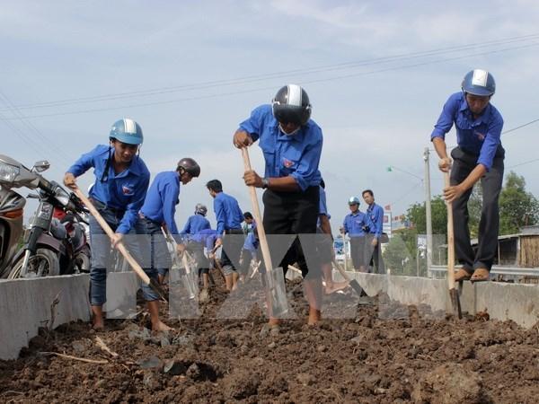 越南政府总理颁发落实越南青年发展战略的指示令 hinh anh 1