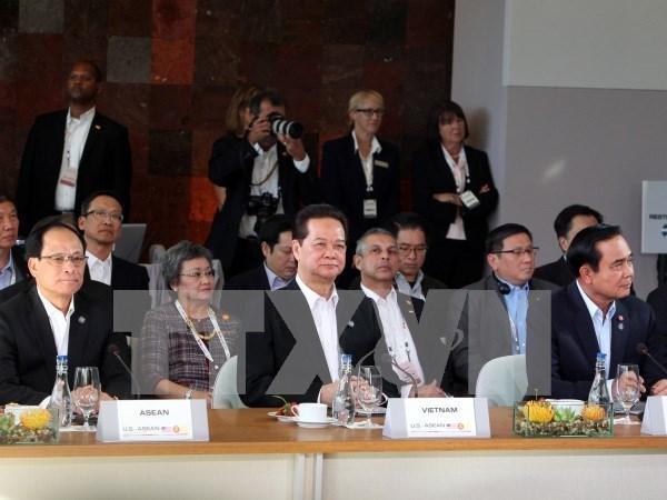 东盟—美国领导人特别峰会:越南为促进东盟与美国合作关系做出积极贡献 hinh anh 1