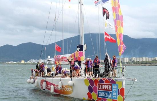 克利伯环球帆船赛各参赛队抵达岘港市 hinh anh 1