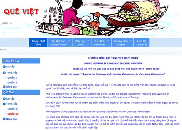 越南升级在线越语学习网 做好对外越南语教学工作 hinh anh 1