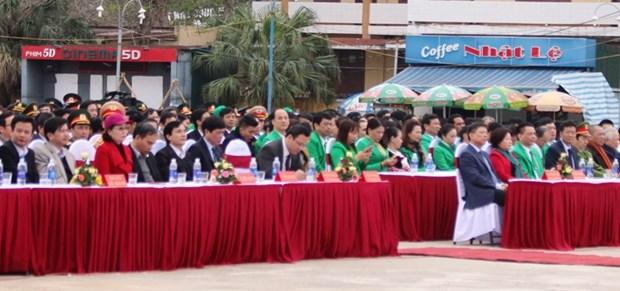 """""""社会共同携手为了交通安全""""活动在广平省举行 hinh anh 1"""