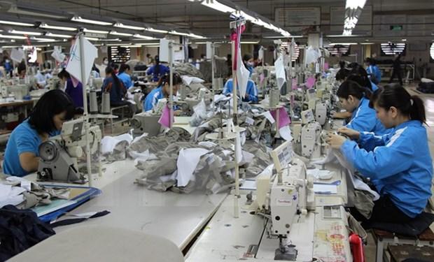 越南纺织服装业在全球价值链中的地位 hinh anh 1