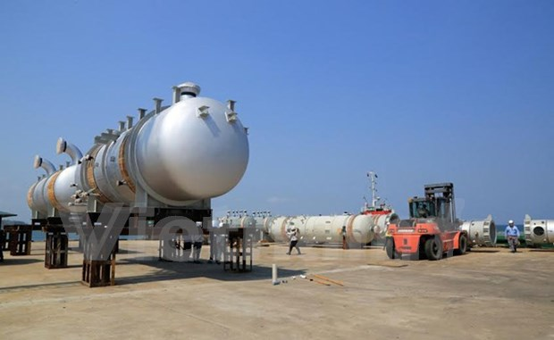 Doosan Vina向永新4号热电厂交付第12批高技术含量锅炉设备 hinh anh 1