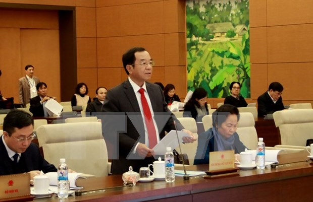 越南国会常委会就国家主席2011~2016年任期工作总结报告草案提出意见 hinh anh 1
