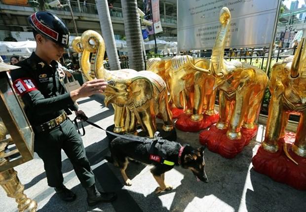 泰国警方加强保安工作以防IS袭击 hinh anh 1