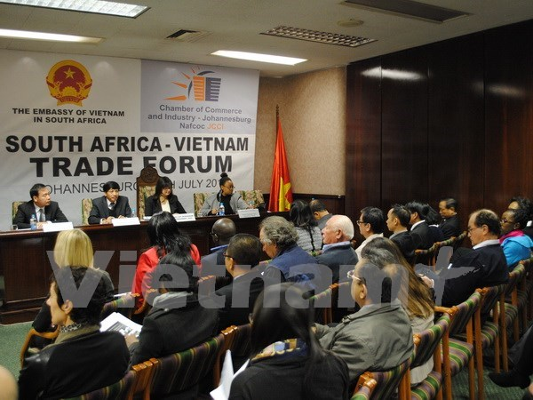 越南对南非出口额大幅增长 hinh anh 1