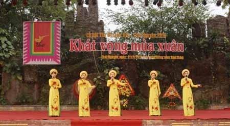 响应越南诗歌日的丰富活动纷纷举行 hinh anh 1