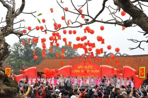 第十四次越南诗歌日在文庙—国子监隆重开幕 hinh anh 3