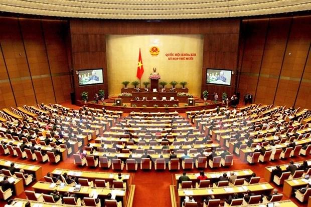 国会代表候选人准备:民主和依法进行 hinh anh 1