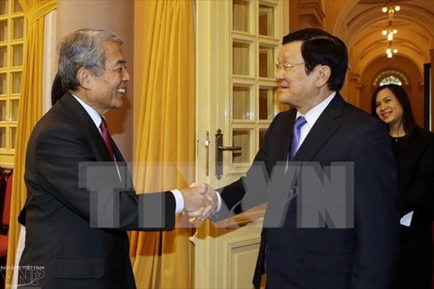 张晋创主席:越南欢迎日本九州企业赴越投资 hinh anh 1