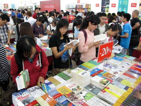 胡志明图书节将于3月底举行 hinh anh 1