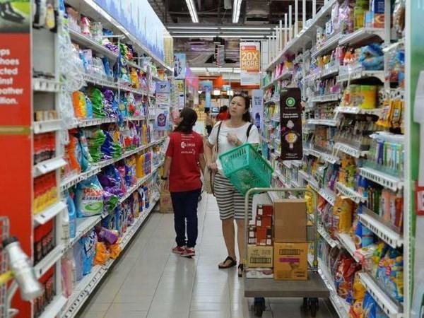 新加坡居民消费价格指数连续15个月下滑 hinh anh 1