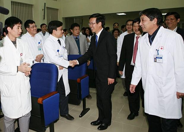 越南医师节:各地举行多项庆祝活动 hinh anh 1