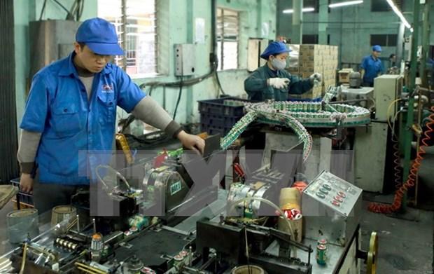 今年前两个月河内工业生产指数同比增长8.8% hinh anh 1