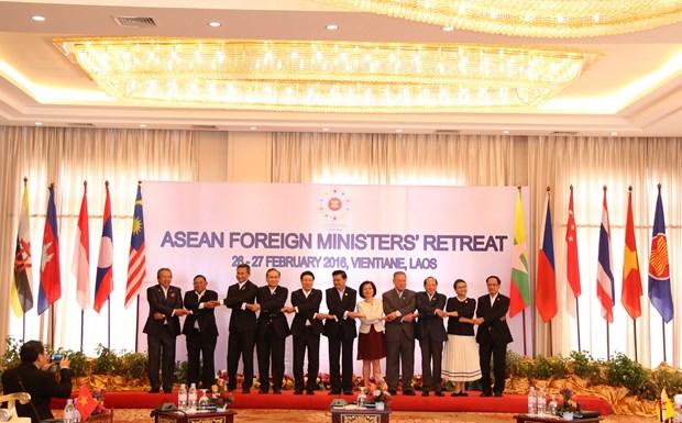 东盟外长非正式会议通过东盟共同体2025年愿景 hinh anh 1