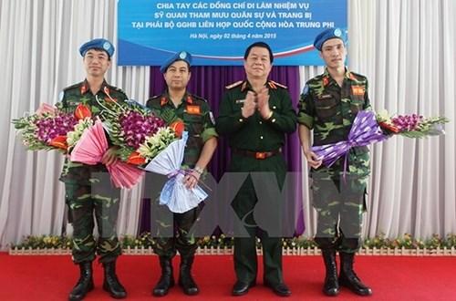 加大有关越南参与联合国维和行动的宣传力度 hinh anh 1