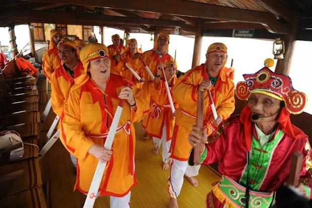 广南省把赵曲正式成为越南国家级非物质文化遗产 hinh anh 1