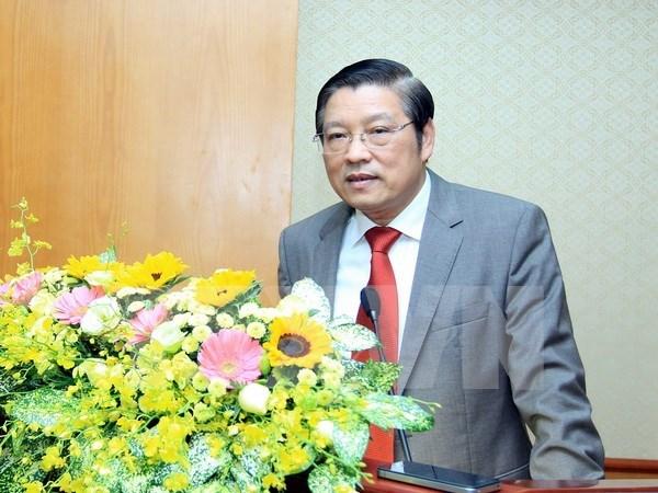越共中央内政部副部长潘庭擢被任命为中央内政部部长 hinh anh 1