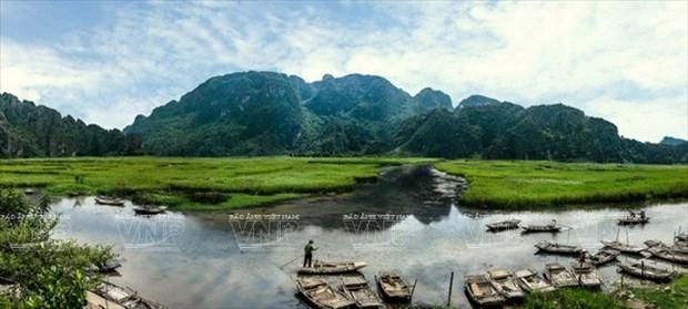 云龙生态旅游区准备迎接影片《金刚:骷髅岛》摄制组 hinh anh 1