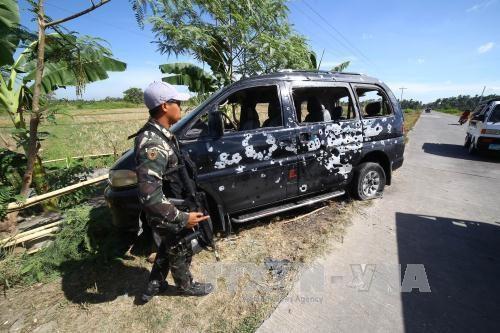 菲律宾军方在该国南部击毙24名恐怖分子 hinh anh 1