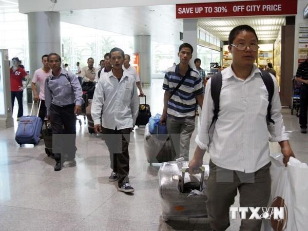 2016年前两个月越南劳务输出人数逾1.5万名 hinh anh 1