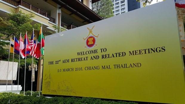 第22届东盟经济部长非正式会议在泰国召开 hinh anh 1
