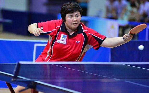 2016年世界乒乓球团体锦标赛:越南女子队取得二连胜 hinh anh 1