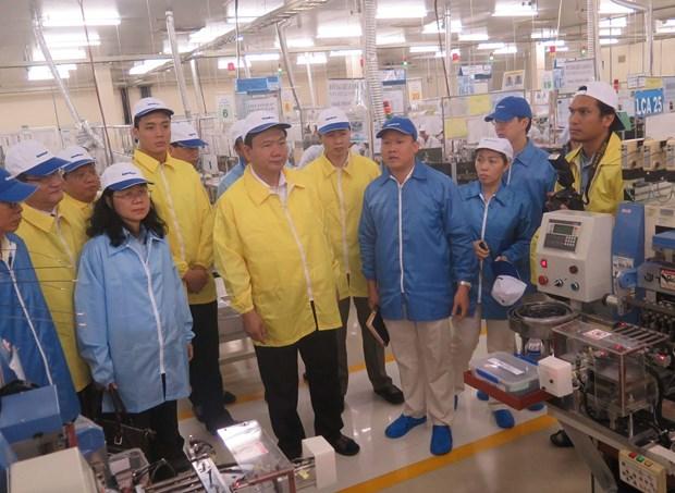 胡志明市高科技工业园区力争成为高科技多功能经济园区 hinh anh 2