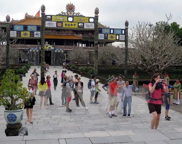 2016年前两个月承天顺化省接待国际游客逾17.5万人 hinh anh 1